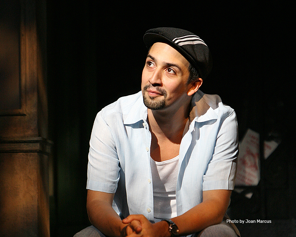 "Lin-Manuel Miranda as ""Usnavi"" 