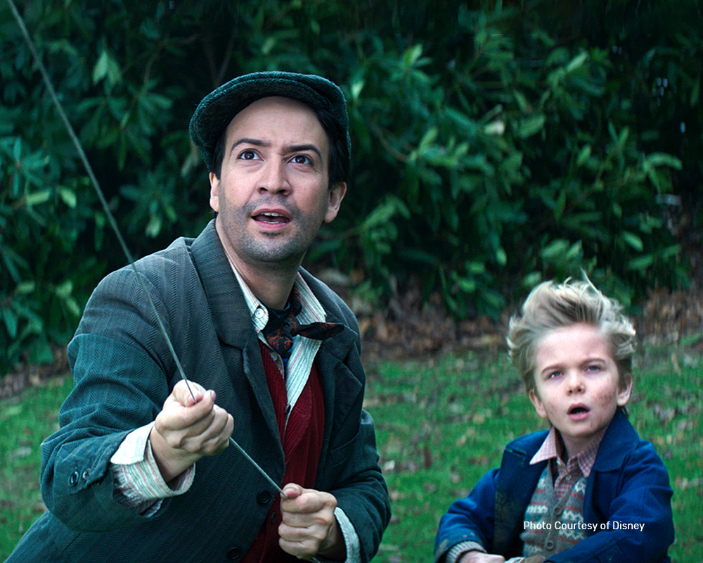 Lin-Manuel Miranda in Disney's original musical MARY POPPINS RETURNS