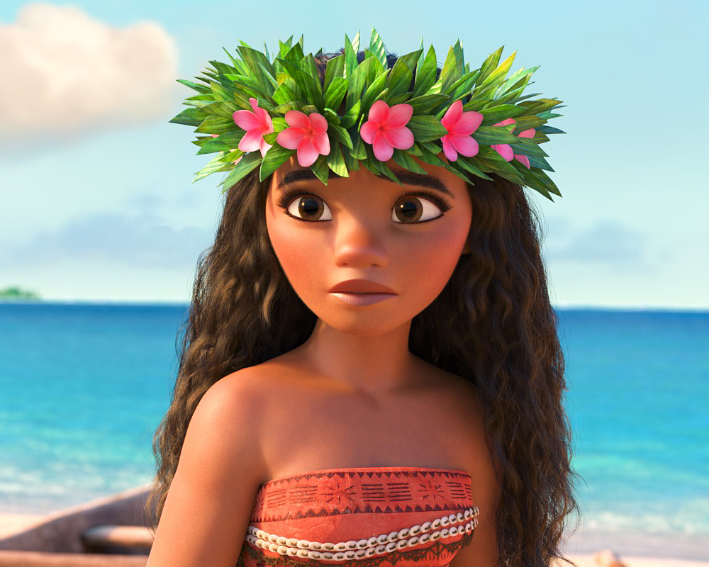 Moana flower crown