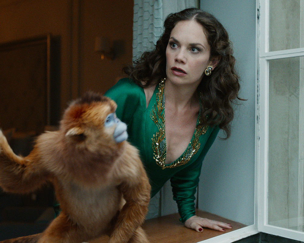 "Ruth Wilson as ""Marisa Coulter"" 